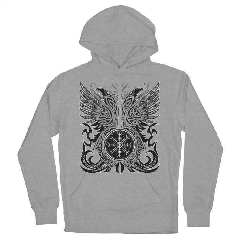 Huginn & Muninn, Odin's Ravens Women's Pullover Hoody by Celtic Hammer Club