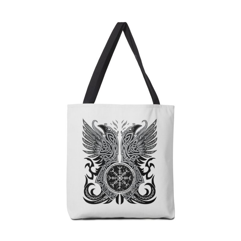 Huginn & Muninn, Odin's Ravens Accessories Bag by Celtic Hammer Club