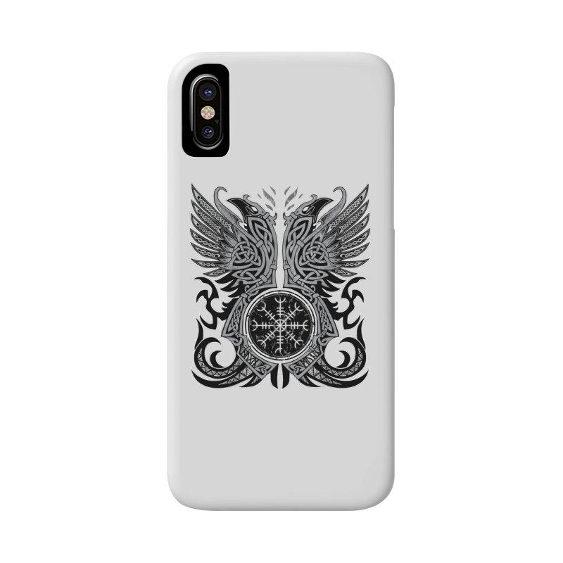 Huginn & Muninn, Odin's Ravens Accessories Phone Case by Celtic Hammer Club