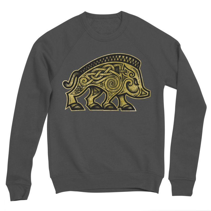 Boar War Pig Women's Sponge Fleece Sweatshirt by Celtic Hammer Club