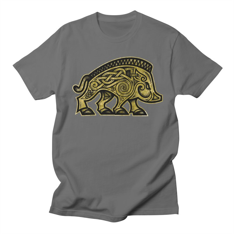 Boar War Pig Women's T-Shirt by Celtic Hammer Club