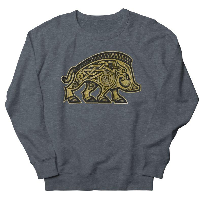 Boar War Pig Women's French Terry Sweatshirt by Celtic Hammer Club