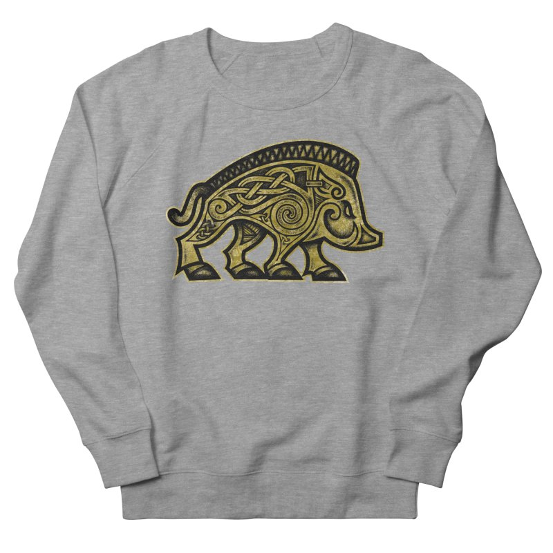 Boar War Pig Women's French Terry Sweatshirt by Celtic Hammer Club