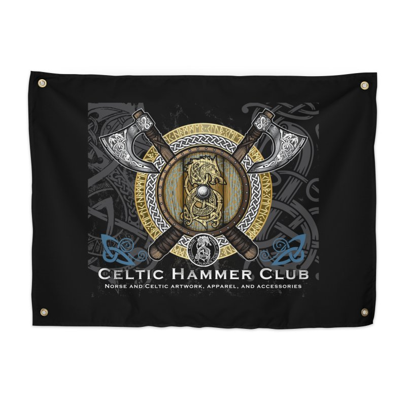 Celtic Hammer Club Banner in Tapestry by Celtic Hammer Club