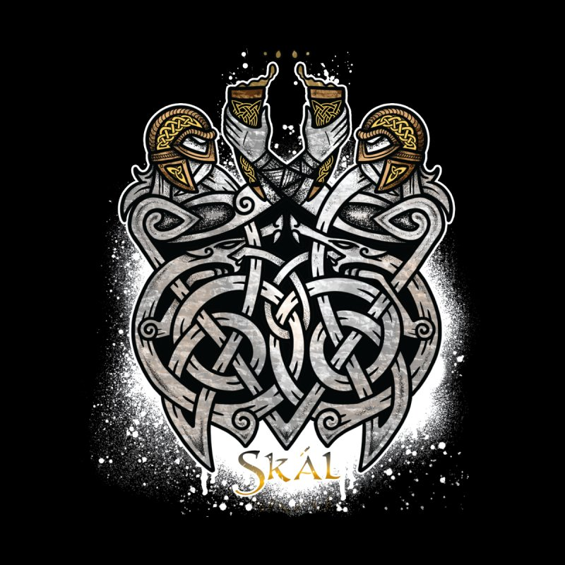 Skál Kids T-Shirt by Celtic Hammer Club