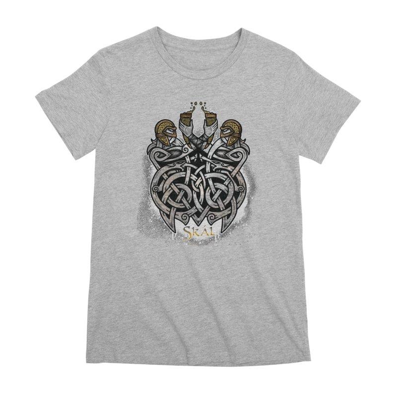 Skál Women's Premium T-Shirt by Celtic Hammer Club
