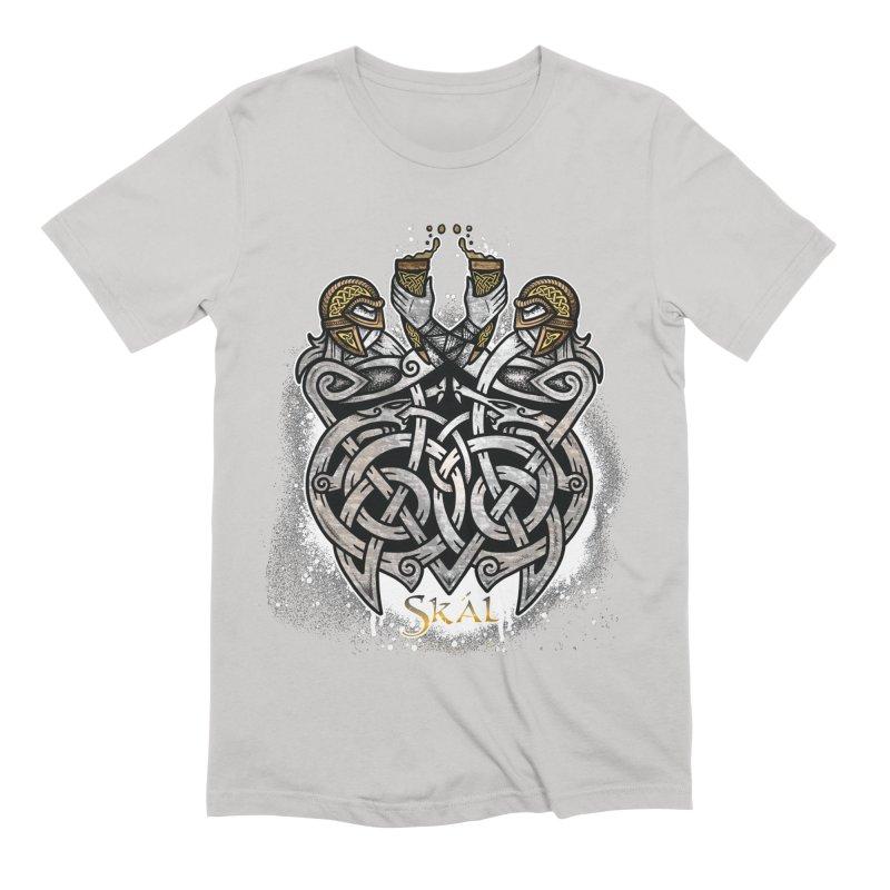 Skál Men's Extra Soft T-Shirt by Celtic Hammer Club