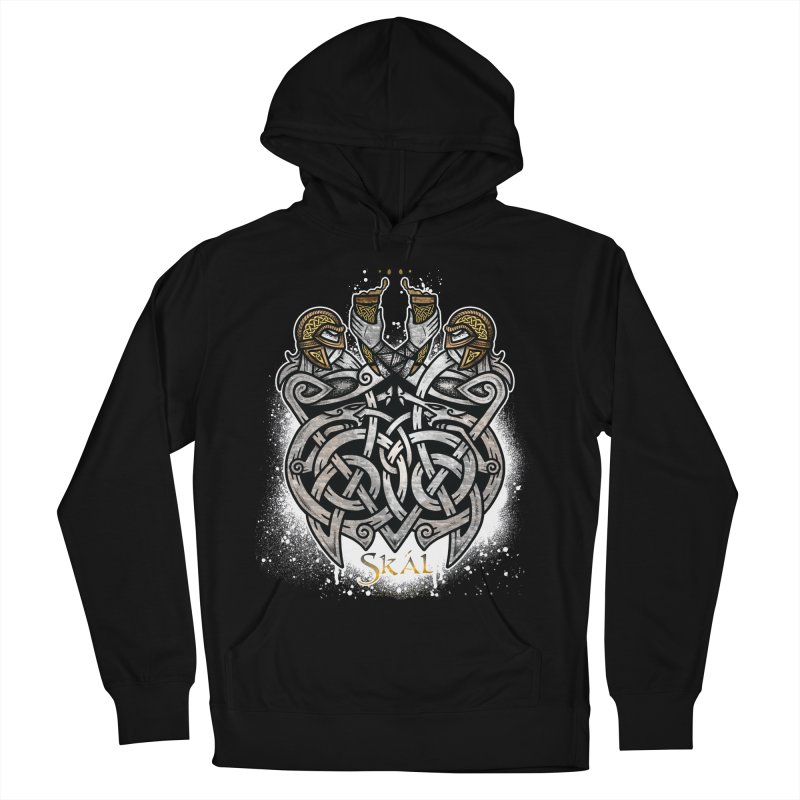 Skál Men's French Terry Pullover Hoody by Celtic Hammer Club
