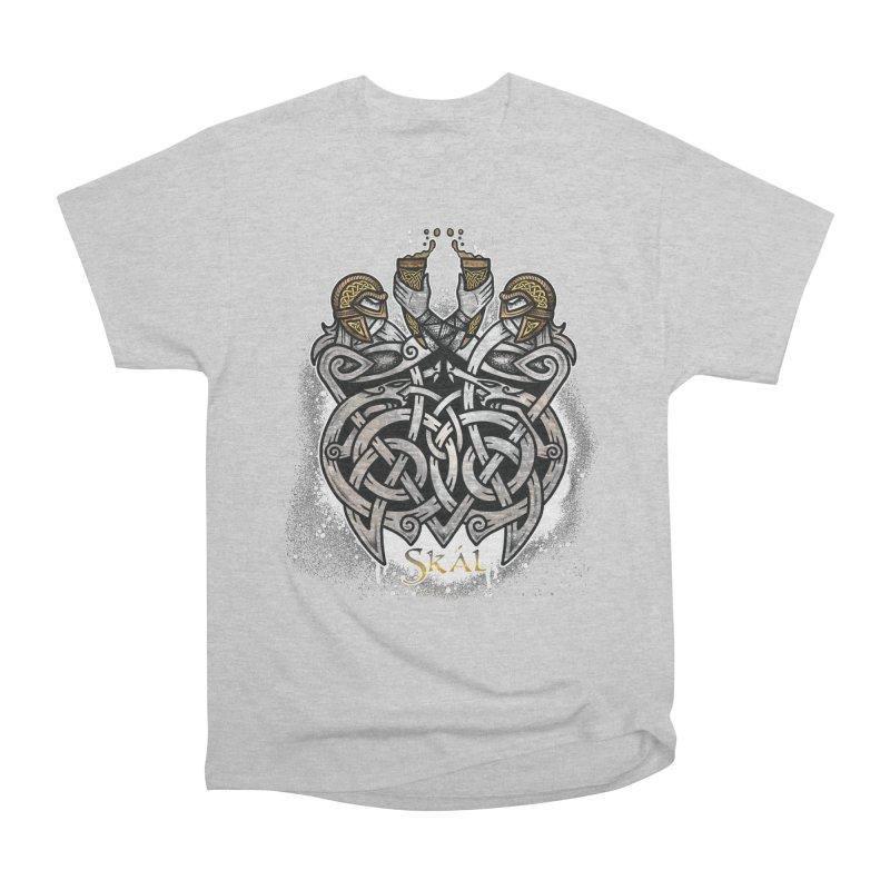Skál Women's Heavyweight Unisex T-Shirt by Celtic Hammer Club