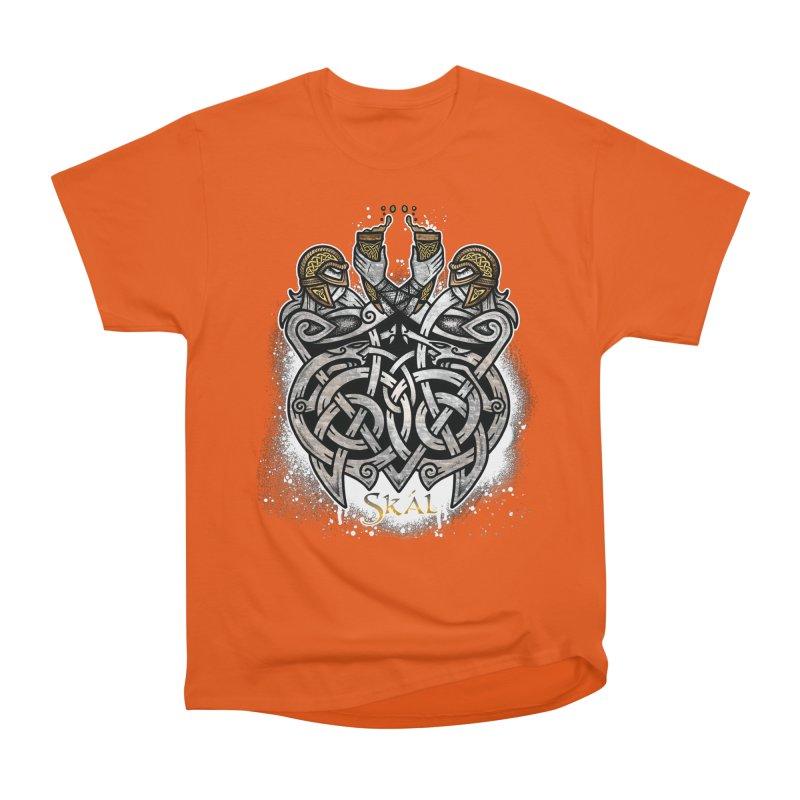 Skál Men's Heavyweight T-Shirt by Celtic Hammer Club