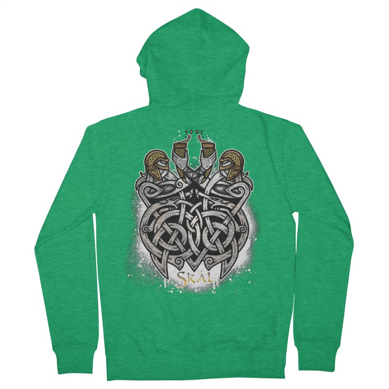 Skál Women's French Terry Zip-Up Hoody by Celtic Hammer Club