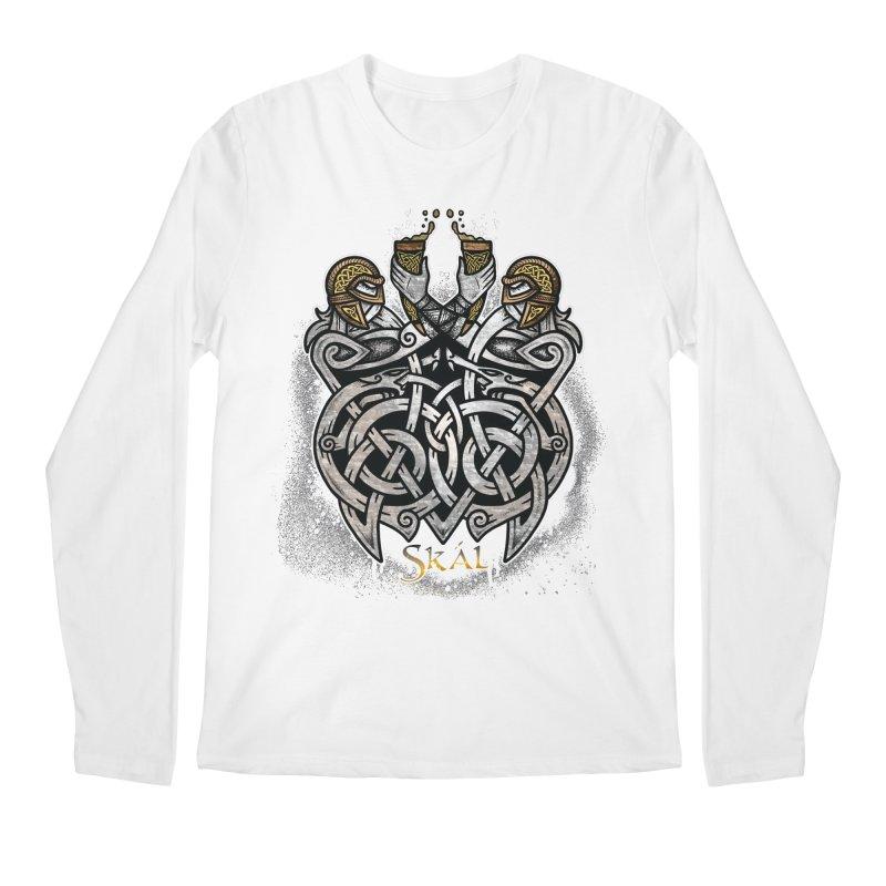 Skál Men's Regular Longsleeve T-Shirt by Celtic Hammer Club
