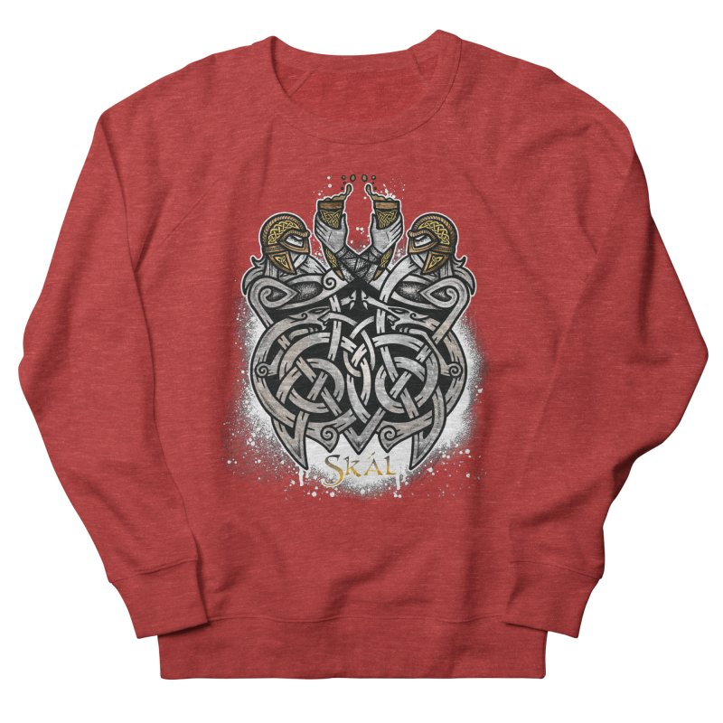 Skál Women's French Terry Sweatshirt by Celtic Hammer Club