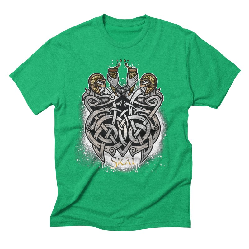 Skál Men's Triblend T-Shirt by Celtic Hammer Club