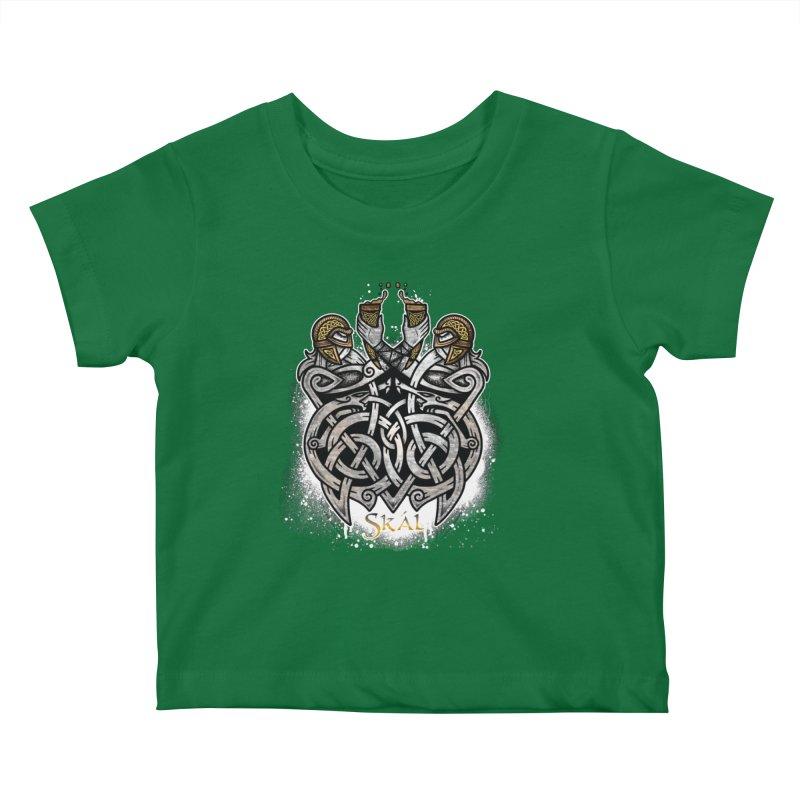 Skál Kids Baby T-Shirt by Celtic Hammer Club