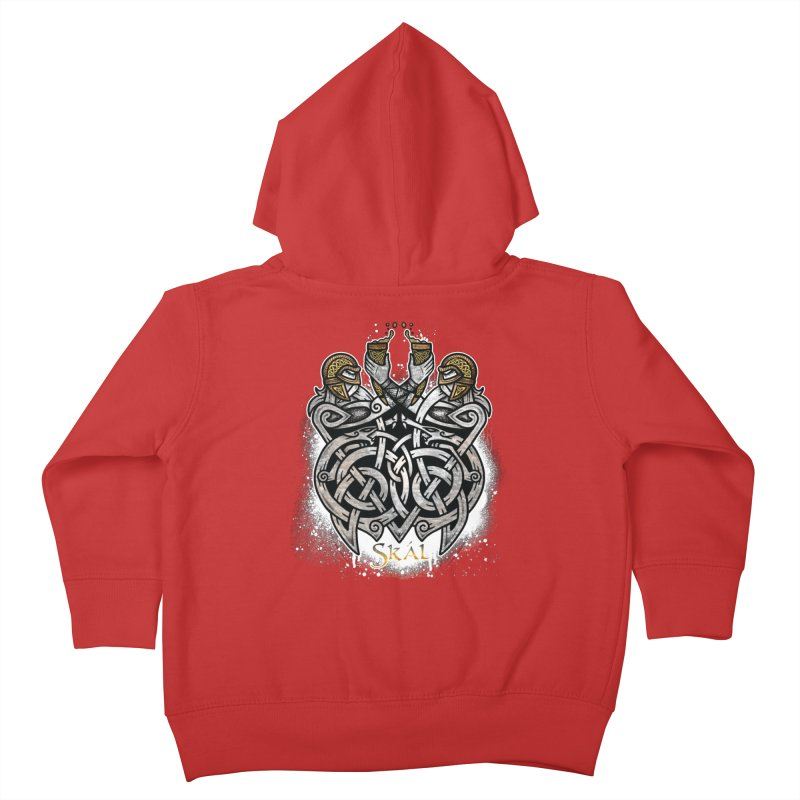 Skál Kids Toddler Zip-Up Hoody by Celtic Hammer Club
