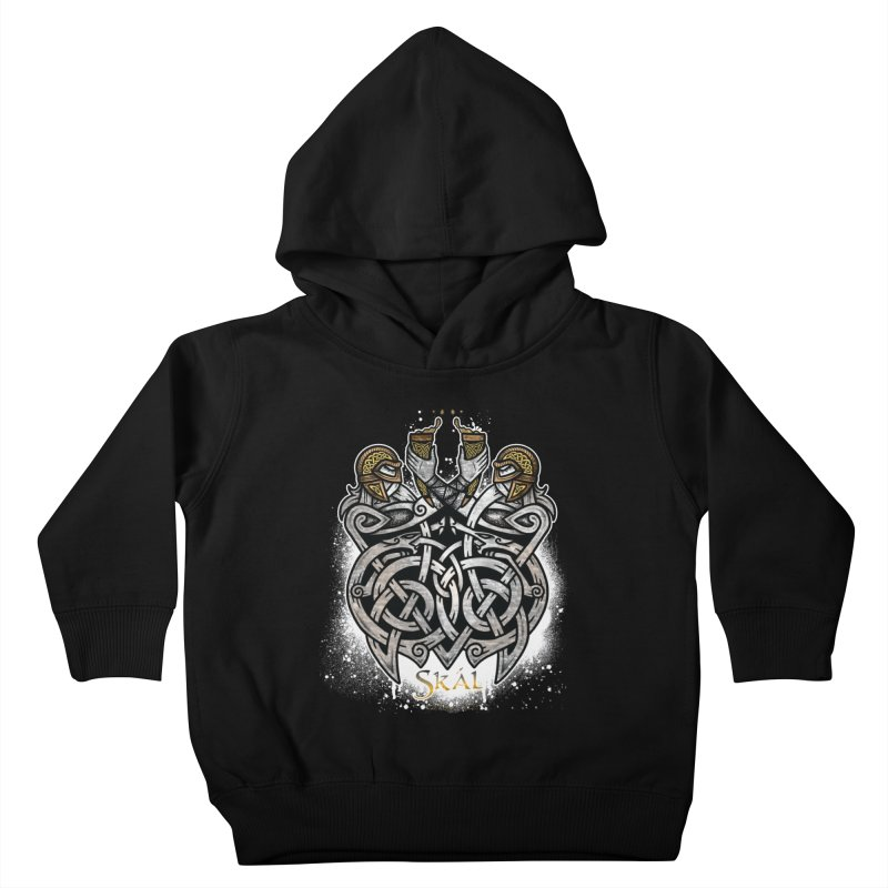 Skál Kids Toddler Pullover Hoody by Celtic Hammer Club