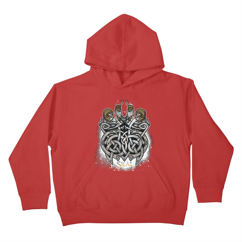 Skál Kids Pullover Hoody by Celtic Hammer Club