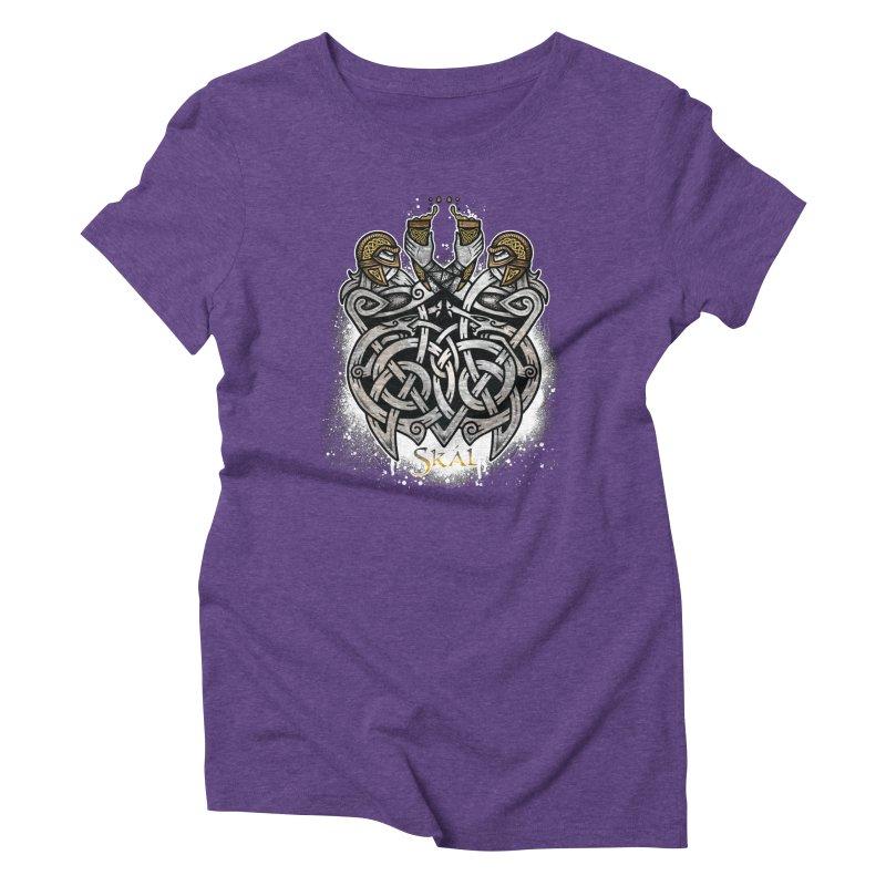Skál Women's Triblend T-Shirt by Celtic Hammer Club