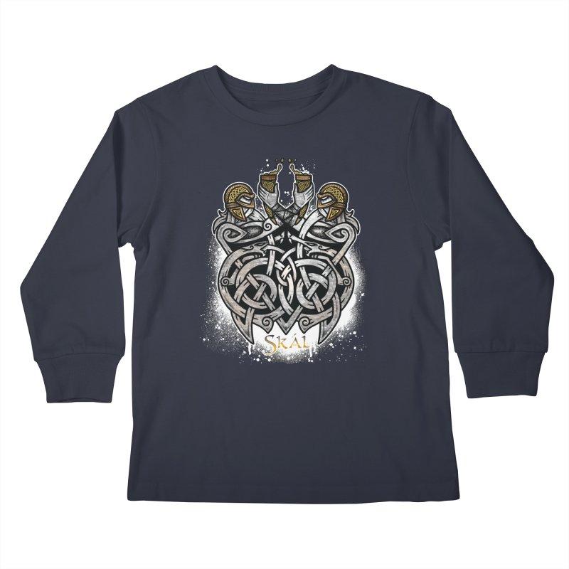 Skál Kids Longsleeve T-Shirt by Celtic Hammer Club