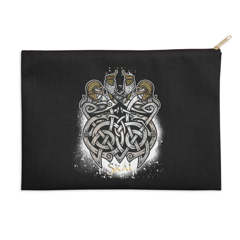 Skál Accessories Zip Pouch by Celtic Hammer Club