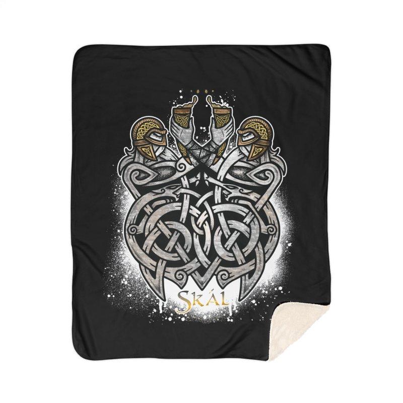 Skál Home Sherpa Blanket Blanket by Celtic Hammer Club