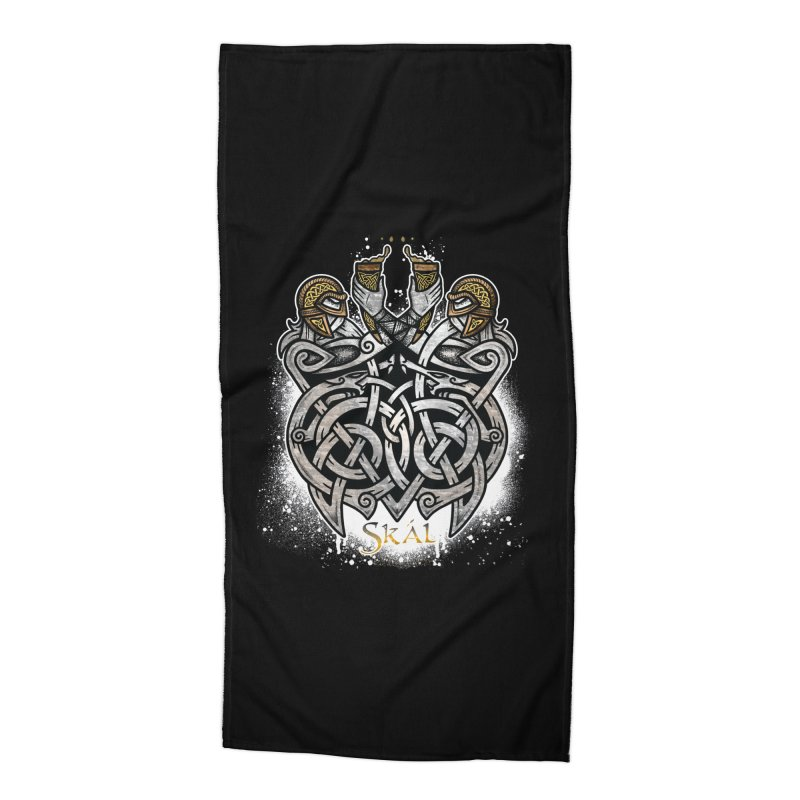 Skál Accessories Beach Towel by Celtic Hammer Club