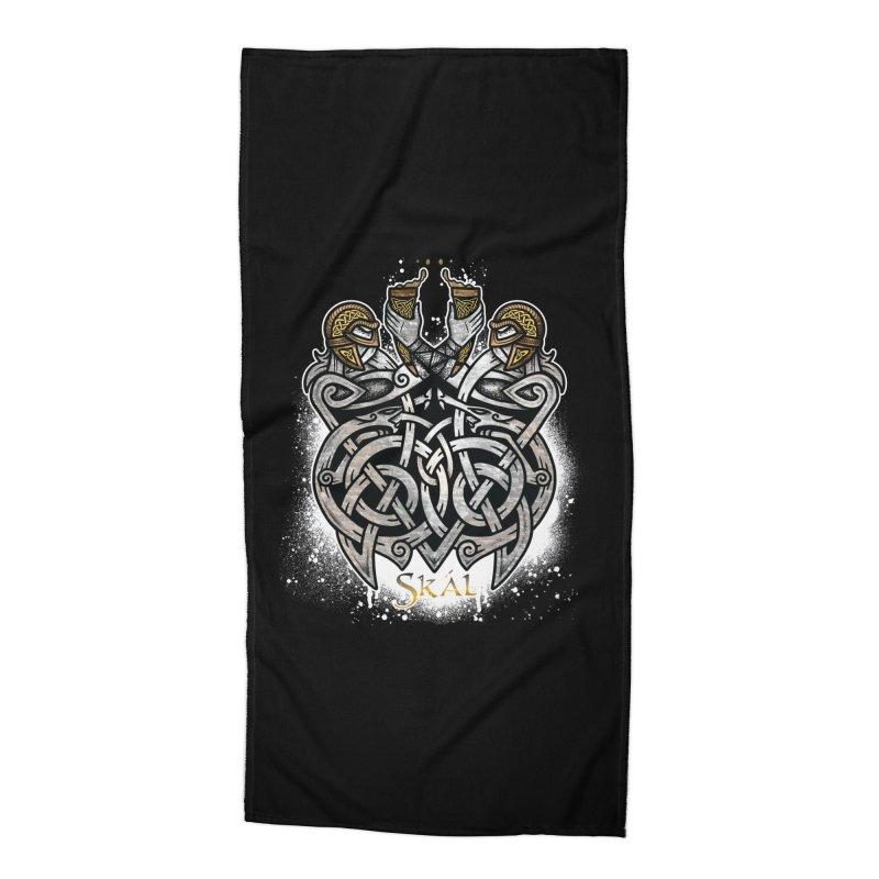 Skál Accessories Beach Towel by Celtic Hammer Club