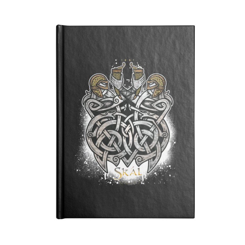 Skál Accessories Notebook by Celtic Hammer Club