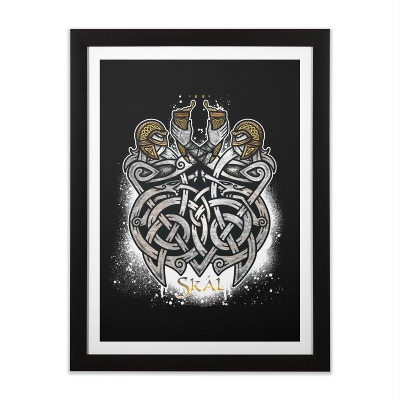Skál Home Framed Fine Art Print by Celtic Hammer Club