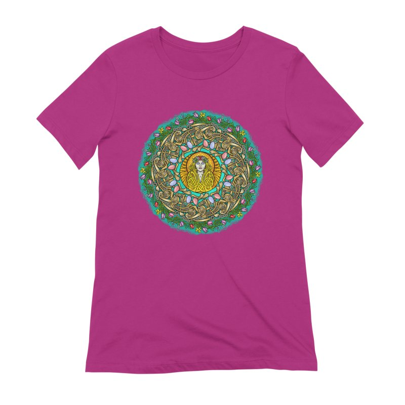 Ēostre Women's Extra Soft T-Shirt by Celtic Hammer Club