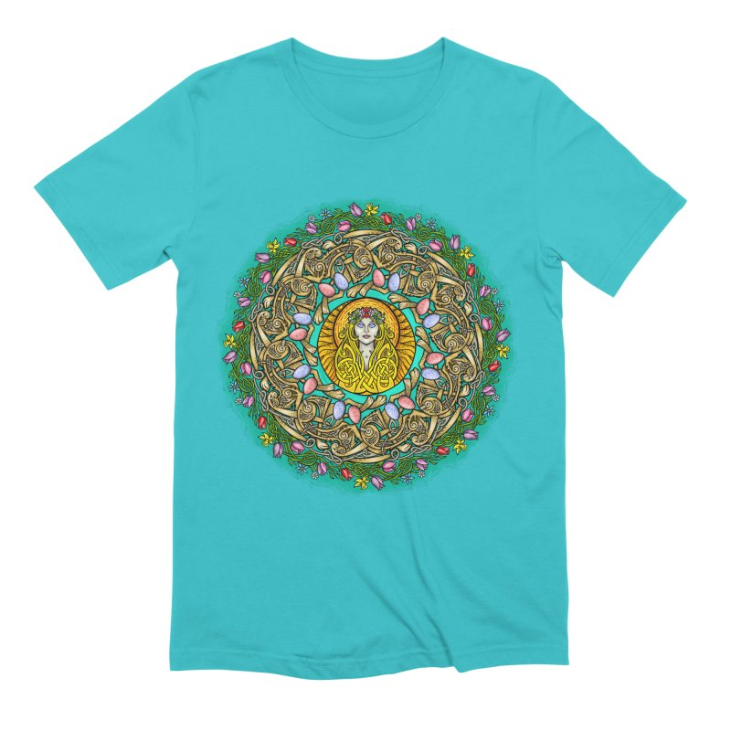 Ēostre Men's Extra Soft T-Shirt by Celtic Hammer Club