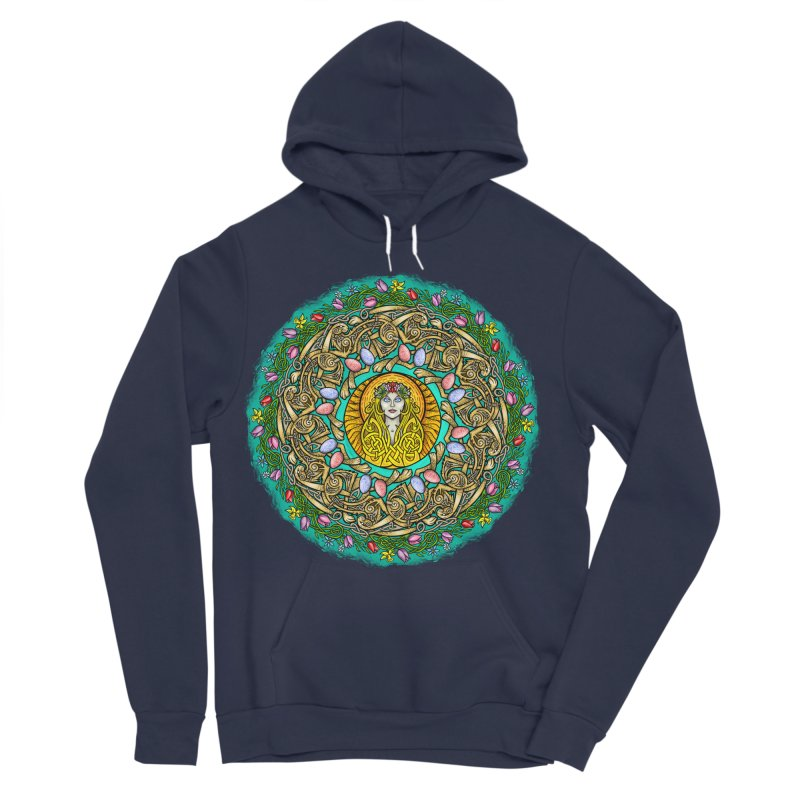 Ēostre Men's Sponge Fleece Pullover Hoody by Celtic Hammer Club