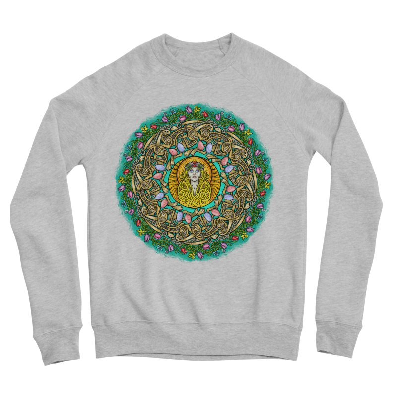 Ēostre Women's Sponge Fleece Sweatshirt by Celtic Hammer Club