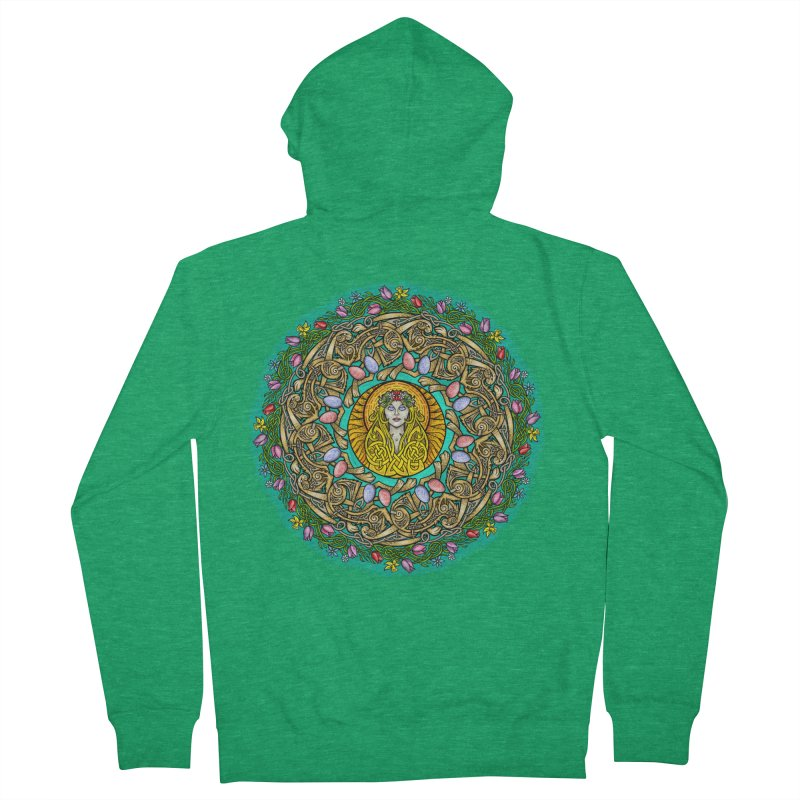 Ēostre Men's Zip-Up Hoody by Celtic Hammer Club