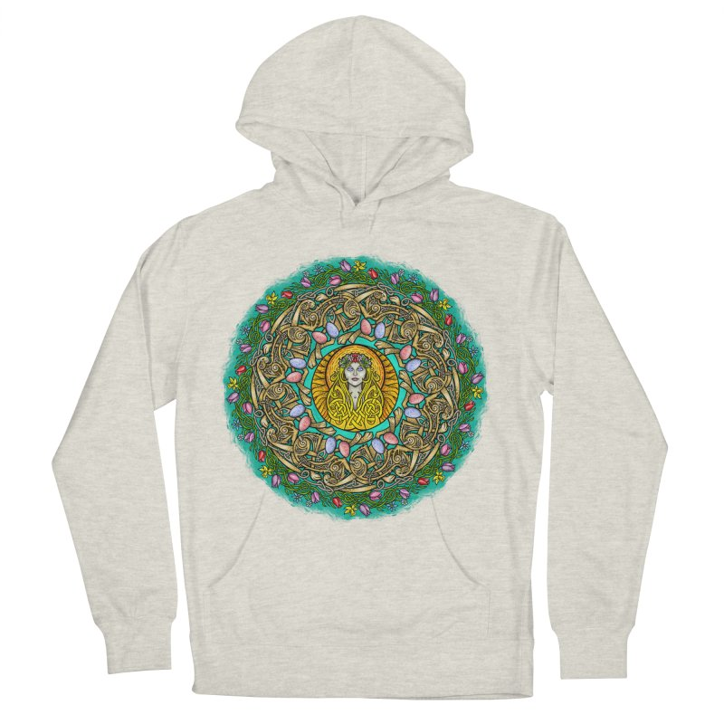 Ēostre Women's French Terry Pullover Hoody by Celtic Hammer Club