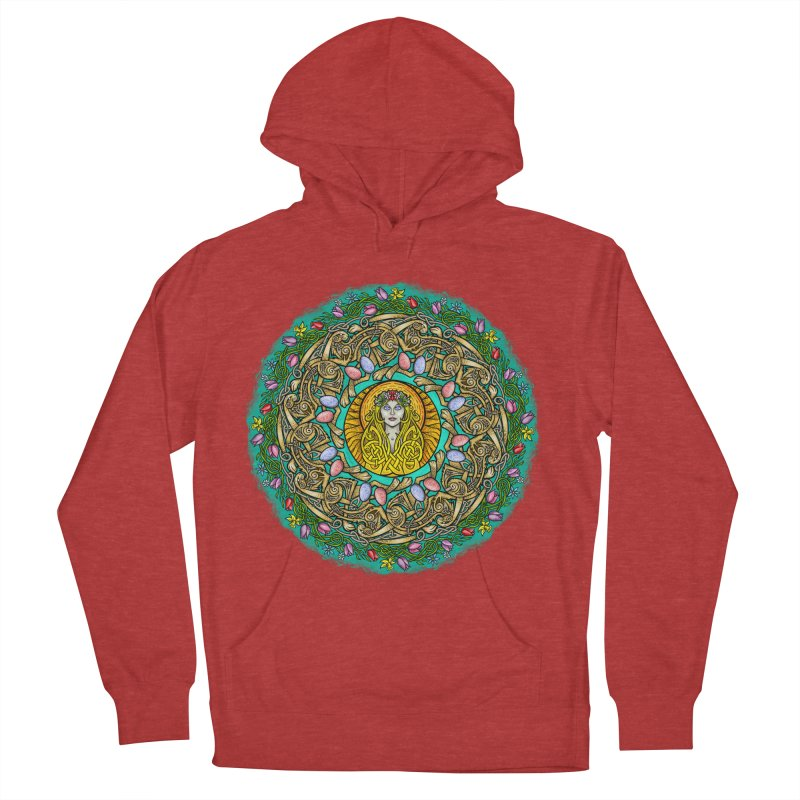 Ēostre Men's French Terry Pullover Hoody by Celtic Hammer Club