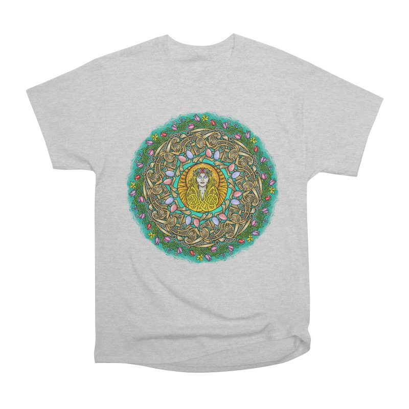 Ēostre Women's Heavyweight Unisex T-Shirt by Celtic Hammer Club