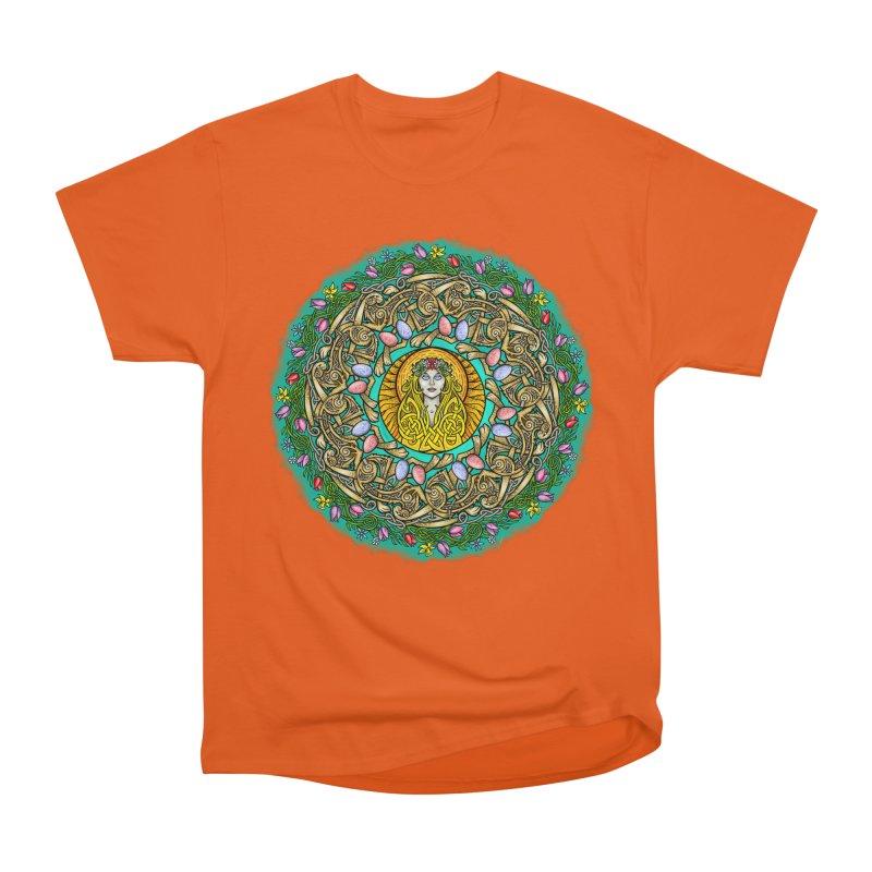 Ēostre Men's Heavyweight T-Shirt by Celtic Hammer Club