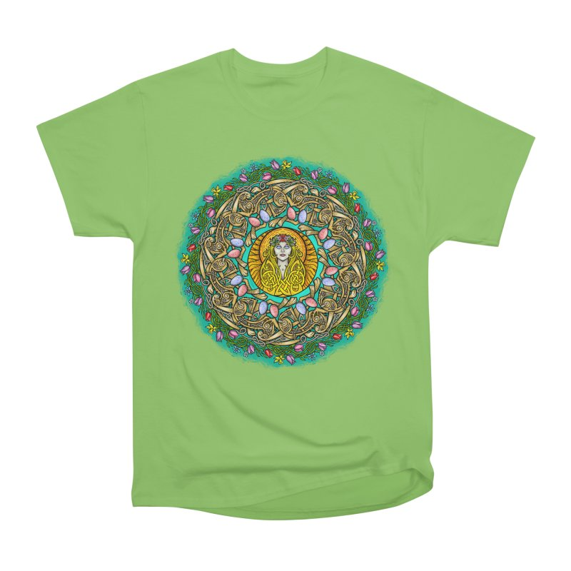 Ēostre Women's Heavyweight Unisex T-Shirt by Celtic Hammer Club