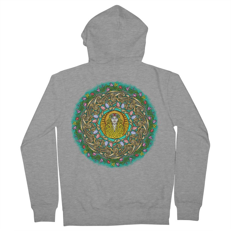 Ēostre Women's French Terry Zip-Up Hoody by Celtic Hammer Club
