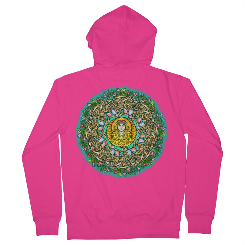 Ēostre Men's French Terry Zip-Up Hoody by Celtic Hammer Club