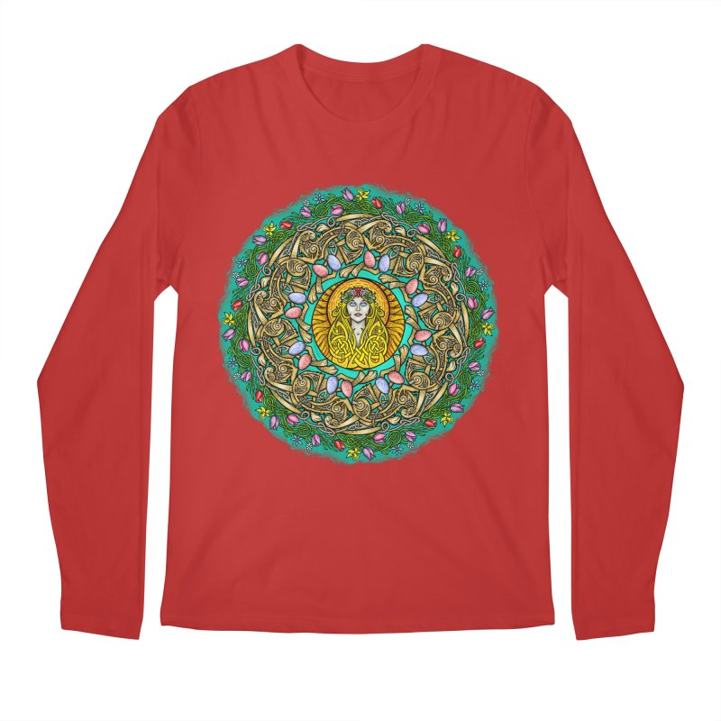 Ēostre Men's Regular Longsleeve T-Shirt by Celtic Hammer Club