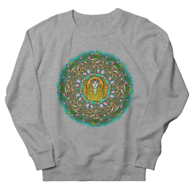 Ēostre Women's French Terry Sweatshirt by Celtic Hammer Club