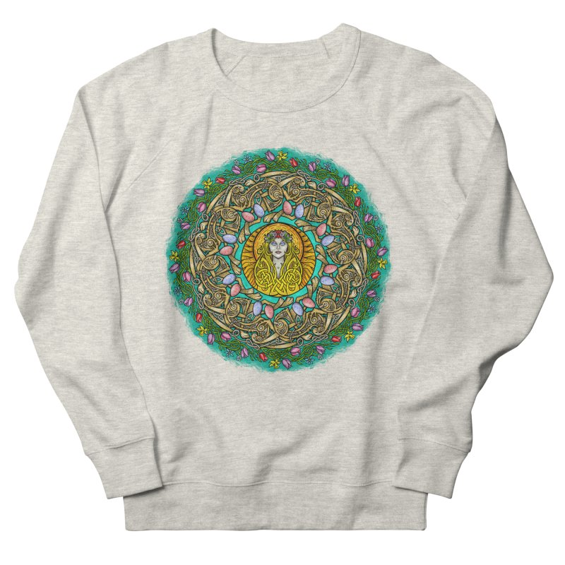 Ēostre Men's French Terry Sweatshirt by Celtic Hammer Club