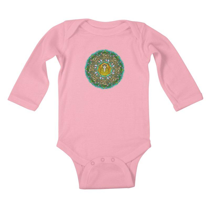 Ēostre Kids Baby Longsleeve Bodysuit by Celtic Hammer Club