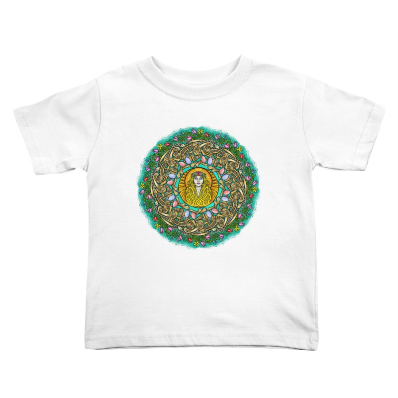 Ēostre Kids Toddler T-Shirt by Celtic Hammer Club