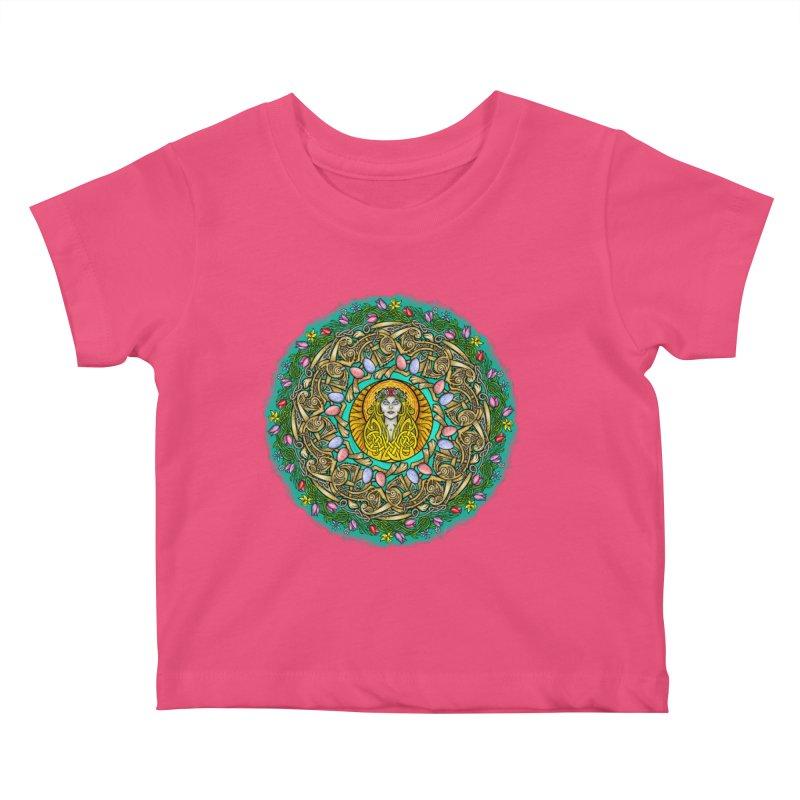 Ēostre Kids Baby T-Shirt by Celtic Hammer Club