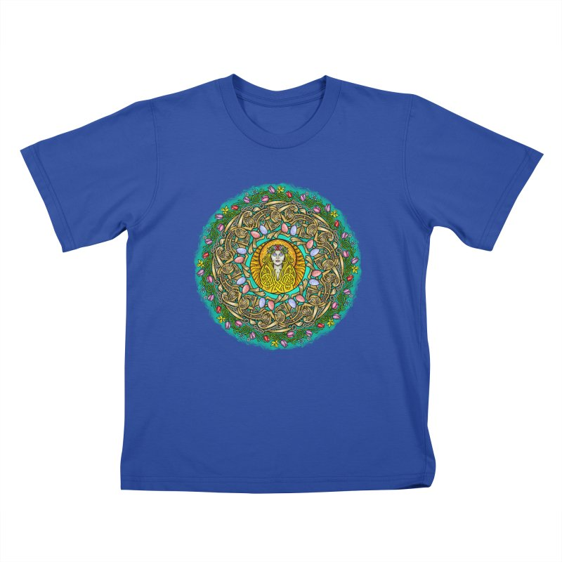 Ēostre Kids T-Shirt by Celtic Hammer Club