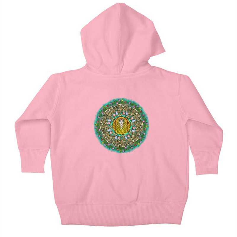 Ēostre Kids Baby Zip-Up Hoody by Celtic Hammer Club